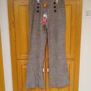Tory Burch wide leg Tweed pant